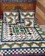 Beautifully Designed Bear Creek Bedding by Patch Magic Quilt