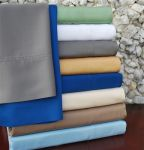100% Bamboo Derived Rayon Sheets- 300 Thread Count Solid Sheet Set