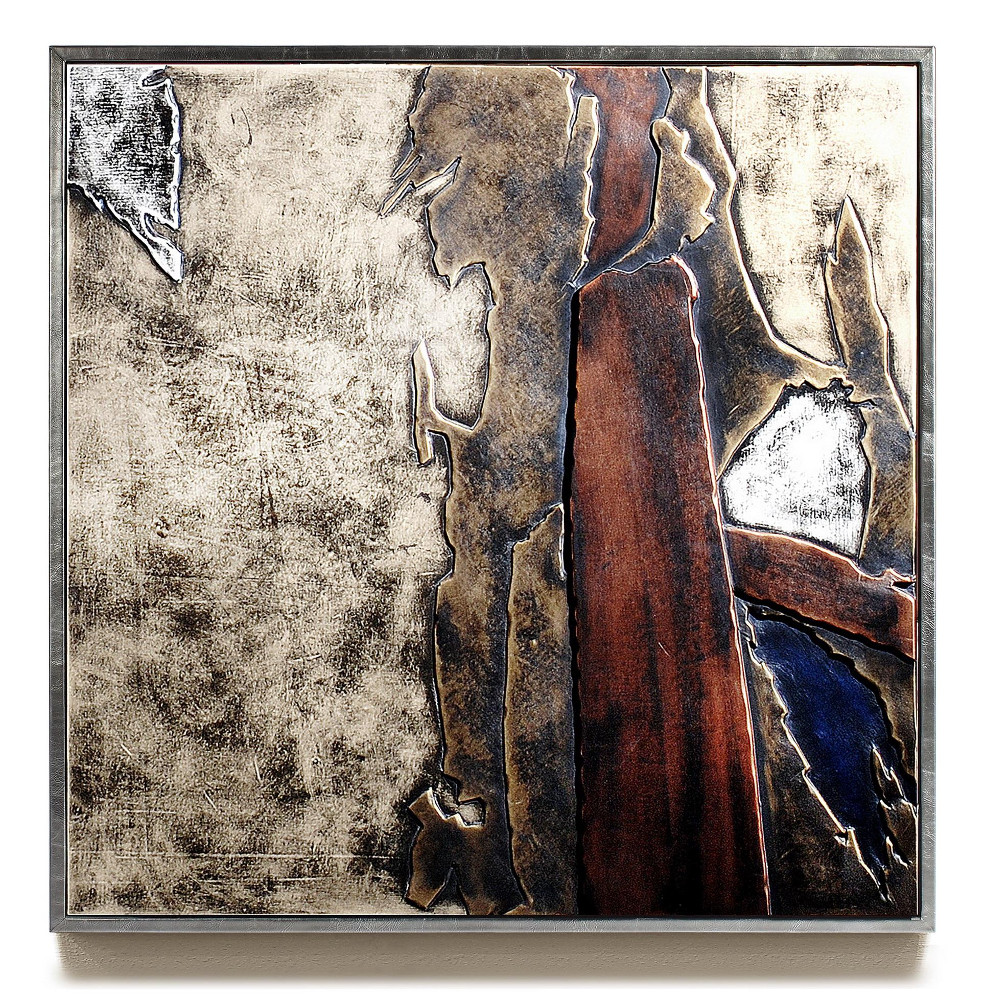 Leather wall art 3d leather wall art decor horror for Wall artwork paintings