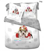 English Bulldog 4 Piece Duvet Cover Twin Bed In A Bag