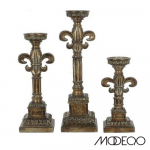 Florence Pillar Candle Holders