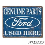 """Ford Parts"" Tin Sign"