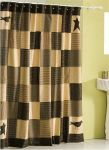 Kettle Grove Patchwork Shower Curtain Collection