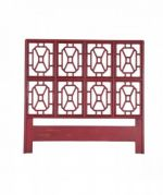 Legacy Red Fretwork Headboard