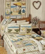 Ocean View Bedding by Patch Magic Quilts- Hand Quilted Pattern