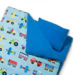 Olive Kids Trains, Planes and Trucks Sleeping Bag- Pillow & Travel Bag