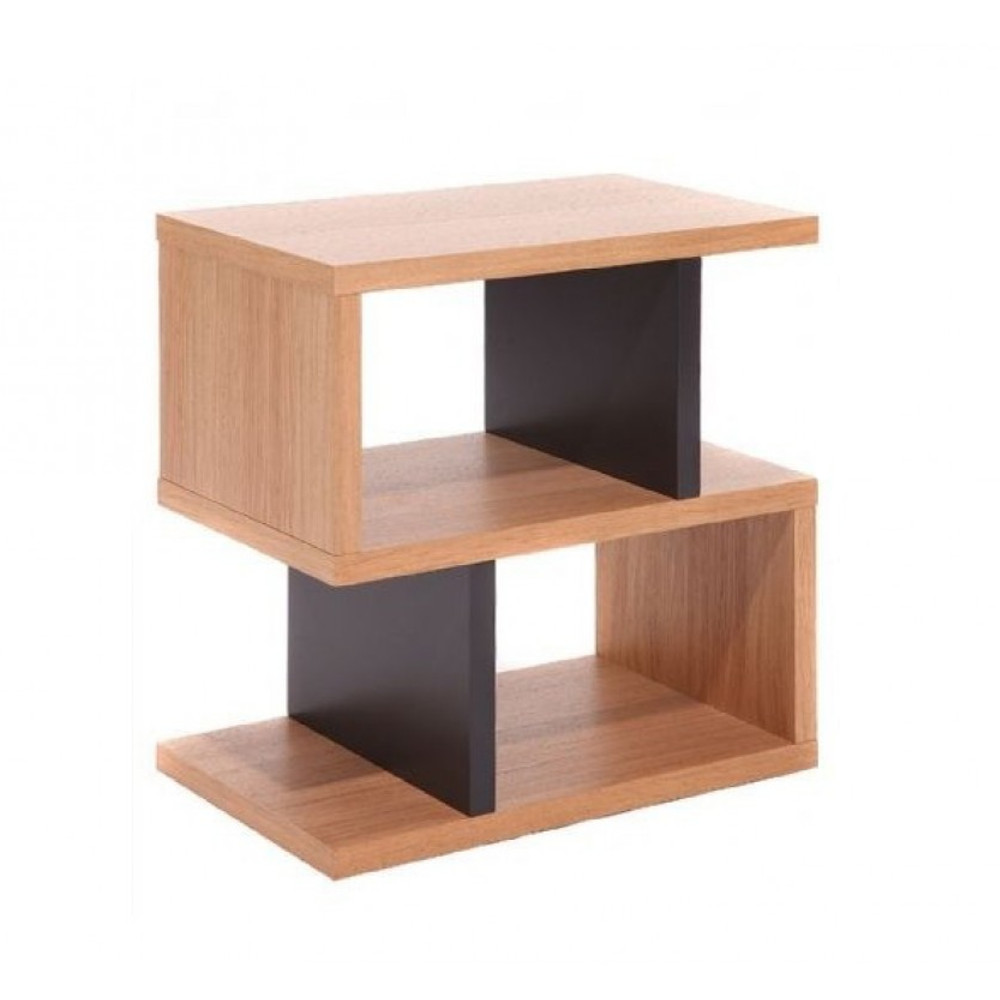 Modern Two Tone End Table