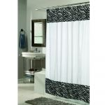 Serengeti Fur Border Shower Curtain