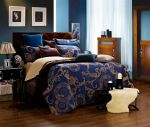 Venus Jacquard Damask Bedding Set- King and Queen Size