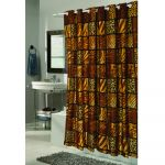 Wild Encounters EZ-ON Polyester Shower Curtain