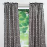 Amba Grey Dossett 84 inch Curtain Panel
