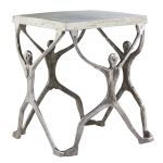 Caballero Man Figure Accent Table