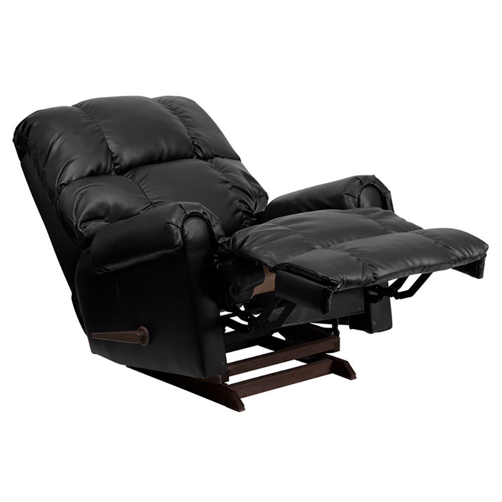 Leather Rocker Recliner Small 28 Easton Leather Rocker