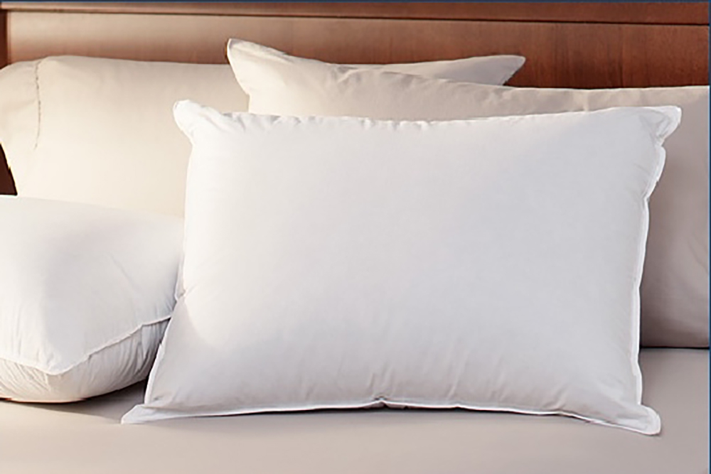 deluxe goose down alternative king size pillow. Black Bedroom Furniture Sets. Home Design Ideas