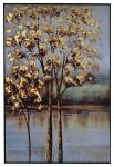 Golden Morning 2 Painted Canvas Wall Art