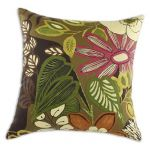 "Lilith Chocolate 17"" Throw Pillow"