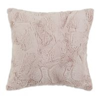 Luxe Plush Pink 17 inch Throw Pillow