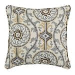 "Suzani Design 17"" Accent Throw pillow"