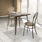Gunmetal Dining Table