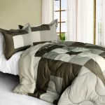 Wind Songs Quilted Patchwork Down Alternative Comforter Set