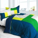 Tropical Rain Forest Quilted Down Twin Comforter Set
