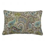 "Paisley 12.5"" x 19"" Accent Pillow"