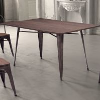 Modern Industrial Dining Room Table