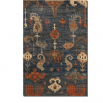 Bali Hand Knotted Area Rug (Bali Collection: 6' x 9')