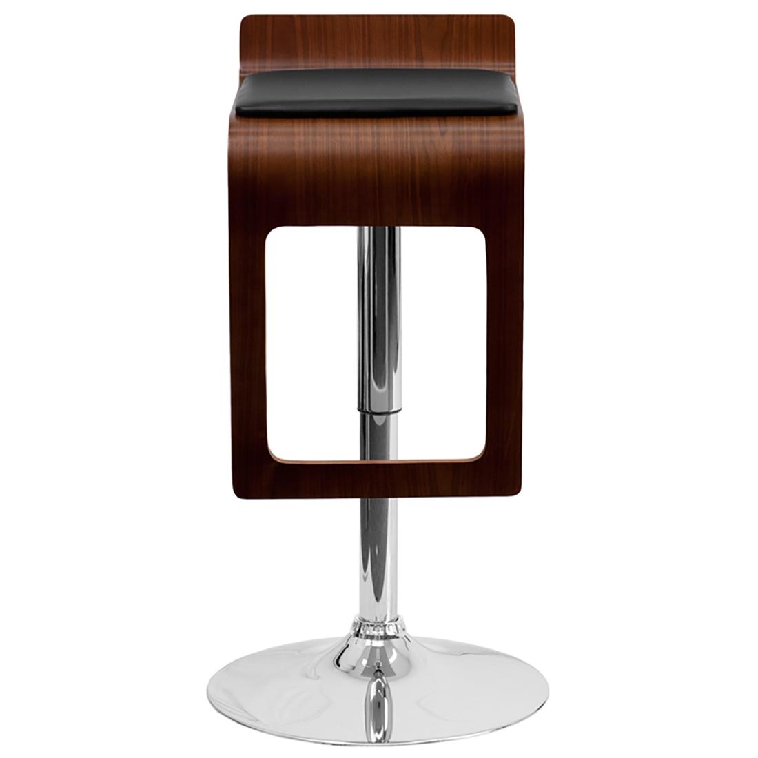 bentwood adjustable height bar stool